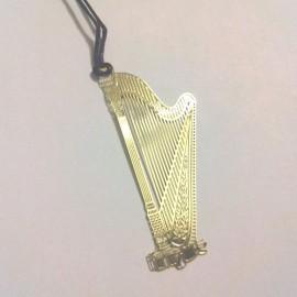 Marque page harpe
