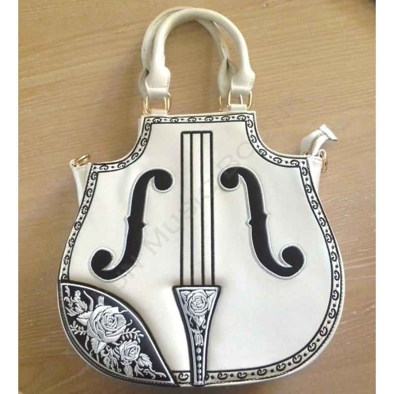 superbe sac a main violon style rock. Black Bedroom Furniture Sets. Home Design Ideas