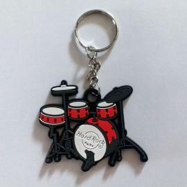 Porte clés batterie rouge