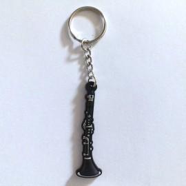 Porte clés clarinette