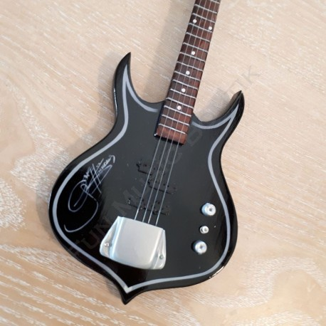 Guitare électrique à poser décoration marron