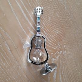 Guitare classique chromée miniature Crystocraft