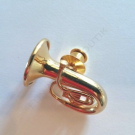 Pins tuba miniature