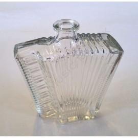 "Bouteille 500 ml ""accordéon"" en verre"