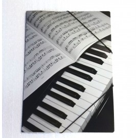 Porte document piano partition