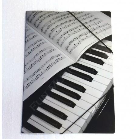 Porte document piano partition