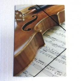 Porte document violon partition