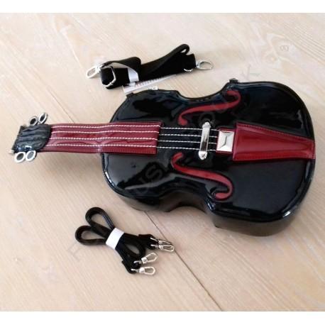 Sac à main cuir violon couleur noir