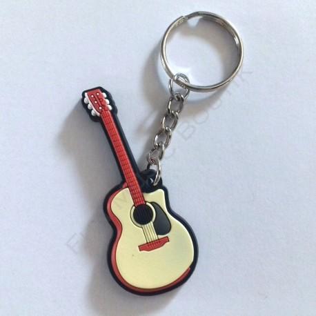 Porte clés guitare acoustique