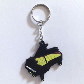 Porte clés piano a queue noir