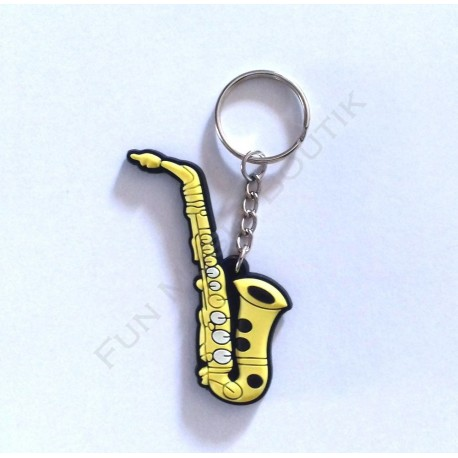 Porte clés saxophone