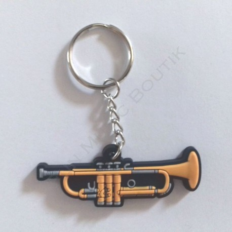 Porte clés trompette.