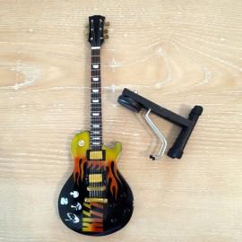 Guitare électrique Kiss à poser