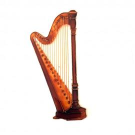 Harpe classique aimantée