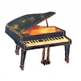 Piano a queue noir classique