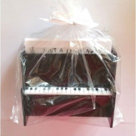 Support bloc notes piano droit